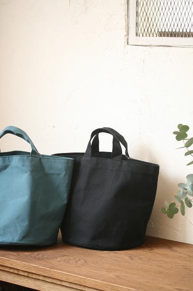 ロウ引き帆布のトートbag
