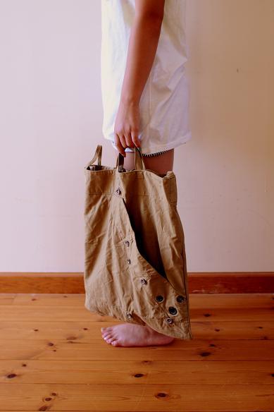 ミリタリーのリメイクbag