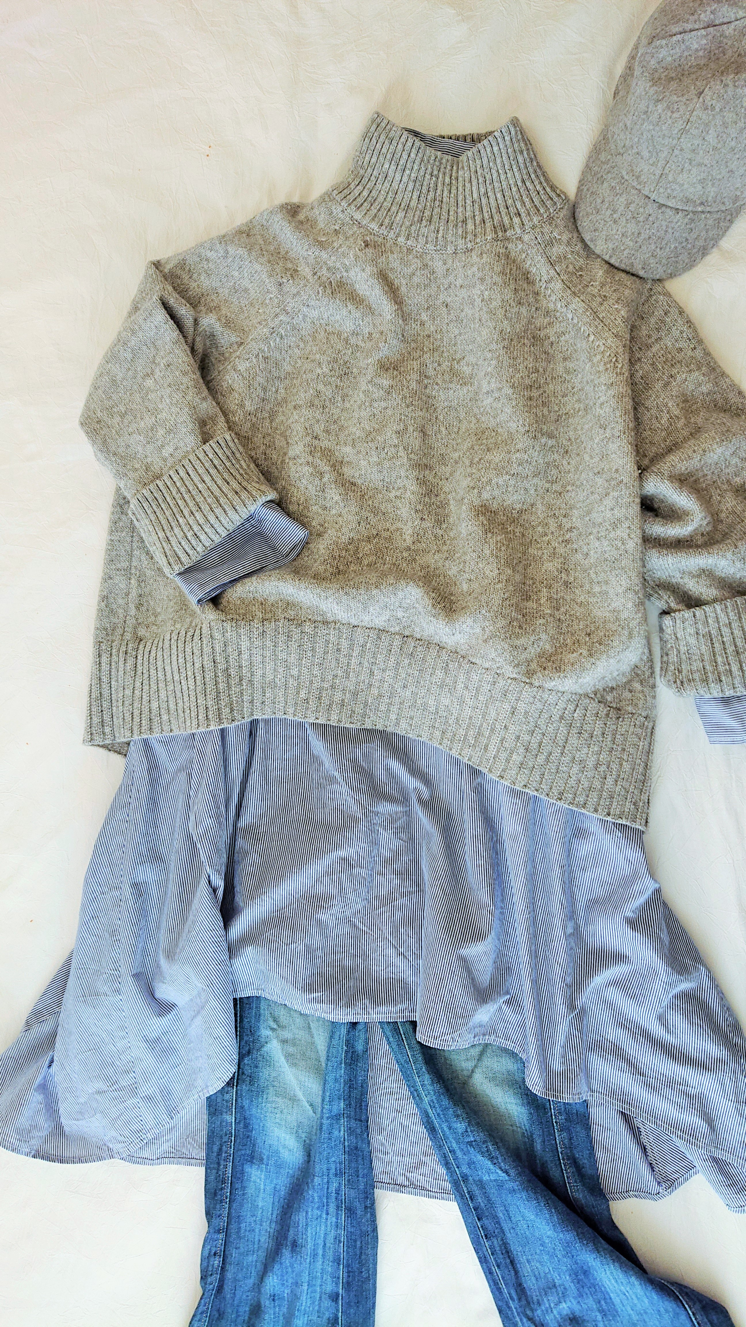 【linenu works展】東京ガールズコレクションでランウェイデビューしたワンピース tricoter/広島福山