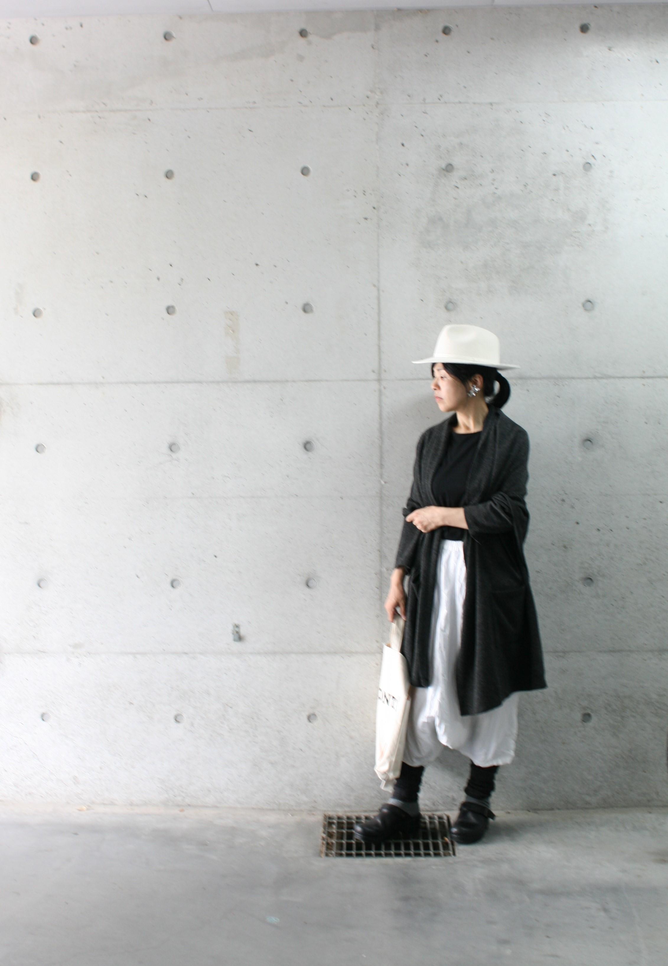 【linenu works展】残り2日間のみ。大人がキレイにはけると話題のサルエルパンツ  tricoter/広島福山